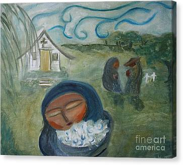 Loss Canvas Print by Teresa Hutto