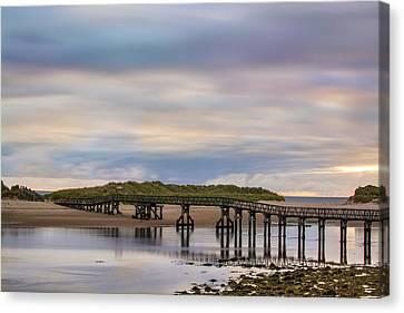 Lossiemouth Walk Bridge Canvas Print