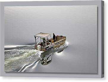 Canvas Print featuring the photograph Lost 02 by Kevin Chippindall