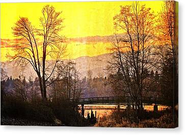 Lost Along The River Canvas Print by Eti Reid