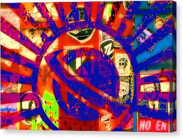 Lost Art Canvas Print by Ron Regalado