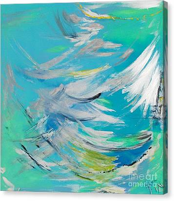 Lost At Sea Canvas Print by PainterArtist FIN