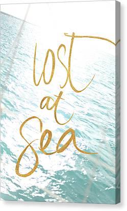 Lost At Sea Canvas Print - Lost At Sea by Susan Bryant