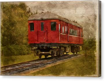 Lost Carriage 01 Canvas Print by Kevin Chippindall