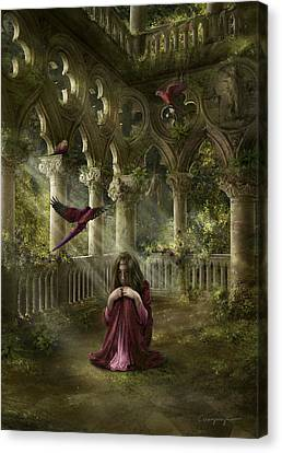 Lost Canvas Print by Cassiopeia Art