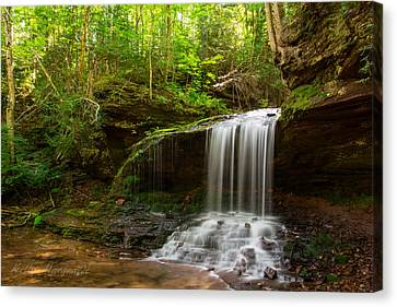Lost Creek Falls Canvas Print