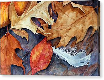 Lost Feather Canvas Print by Enola McClincey