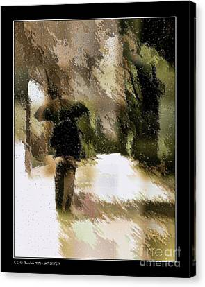 Lost Identity Canvas Print by Pedro L Gili