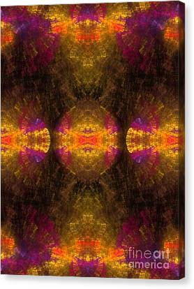 Canvas Print featuring the digital art Lost In Colors by Hanza Turgul