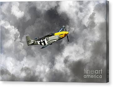 Lost In The Clouds Canvas Print by J Biggadike