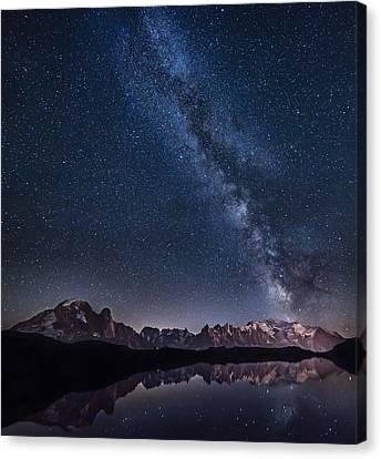 Universe Canvas Print - Lost In The Stars by Alfredo Costanzo