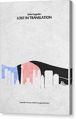 Lost In Translation Canvas Print by Ayse Deniz