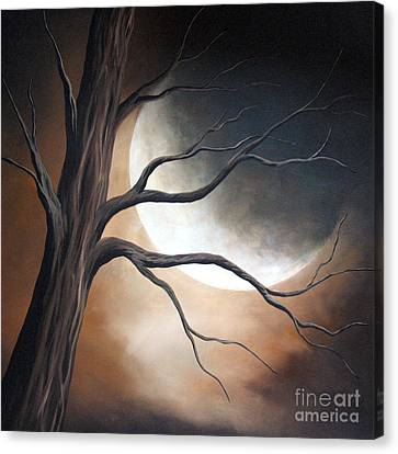 Lost In Your Beauty By Shawna Erback Canvas Print by Shawna Erback