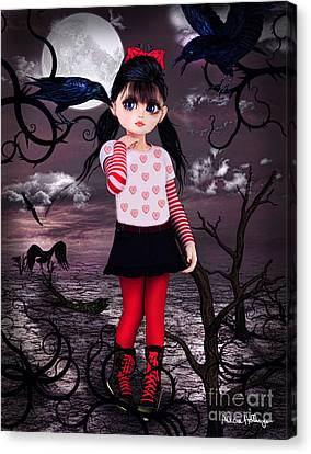 Lost Little Girl Canvas Print