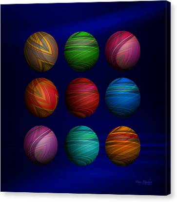 My Space Canvas Print - Lost My Marbles by Mary Machare
