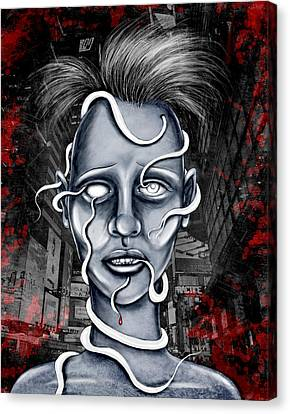 Lost Canvas Print by Shawna Rowe