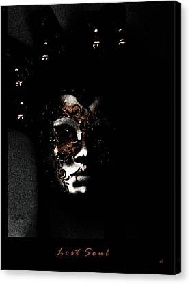Lost Soul  Canvas Print by Gerlinde Keating - Galleria GK Keating Associates Inc