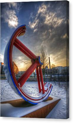 Lost Wheel Canvas Print by Nathan Wright