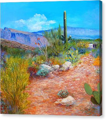 Lot For Sale 2 Canvas Print by M Diane Bonaparte