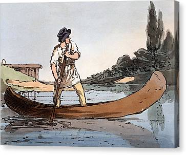 Lotka, 1804 Canvas Print by John Augustus Atkinson