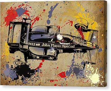 Lotus 1984 Canvas Print by Pablo Franchi