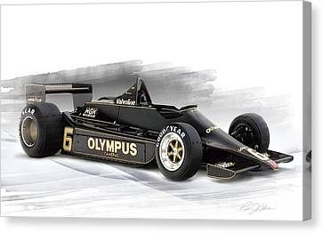 Lotus 79 Canvas Print by Peter Chilelli