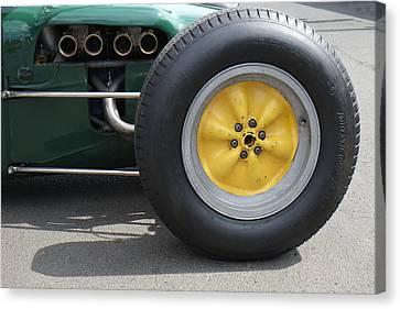 Lotus Knobbly Wheel Canvas Print