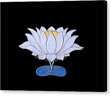 Lotus Canvas Print by Leslie Rinchen-Wongmo