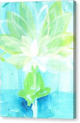 Lotus Petals Awakening Spirit Canvas Print by Ashleigh Dyan Bayer