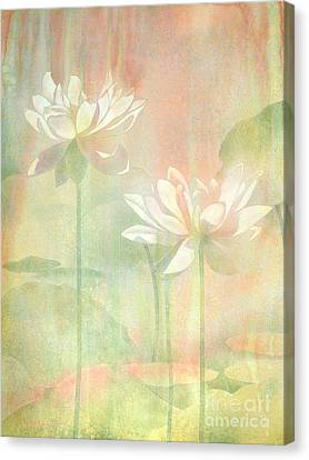 Change Canvas Print - Lotus by Robert Hooper