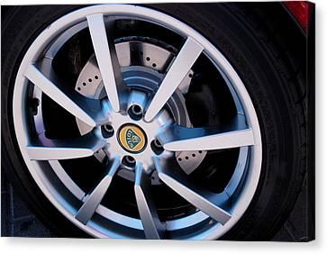 Lotus Wheel Canvas Print