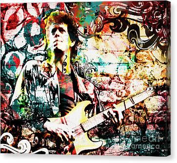 Lou Reed - Velvet Underground Original Painting Print Canvas Print