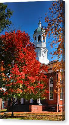 Loudon County Courthouse II Canvas Print