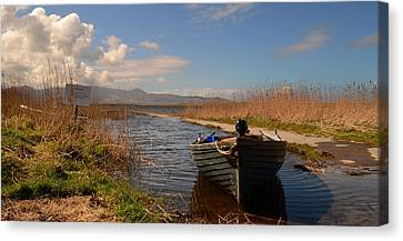 Lough Gill In Co.kerry Canvas Print by Barbara Walsh