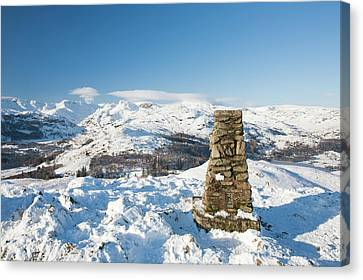 Loughrigg In The Lake District Canvas Print
