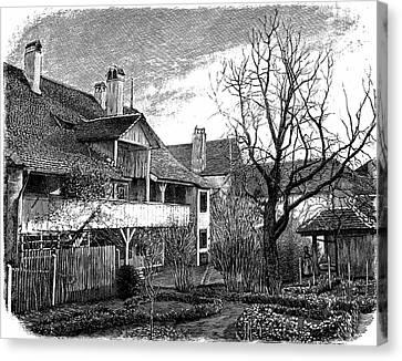 Louis Agassiz's Birthplace Canvas Print