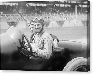 Louis Chevrolet, Us Race Car Driver Canvas Print by Science Photo Library