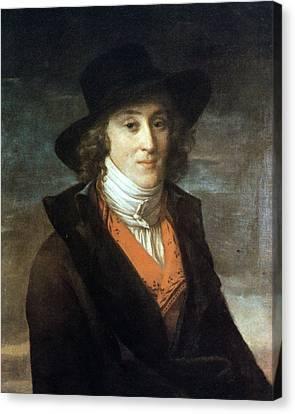 Louis De Saint-just (1767-1794) Canvas Print by Granger