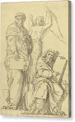 Louis-felix De La Rue After Raphael, French 1731-1765 Canvas Print
