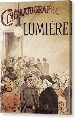 Policeman Canvas Print - Louis Lumiere (1864-1948) by Granger