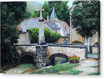 Louis Ocres, France, 1999 Oil On Canvas Canvas Print