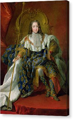 Youthful Canvas Print - Louis Xv by Alexis Simon Belle