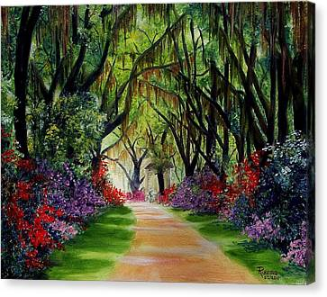 Louisiana Lane Canvas Print
