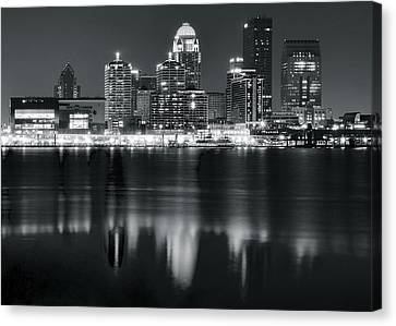 Kentucky Wildcats Canvas Print - Louisville Black As Night by Frozen in Time Fine Art Photography
