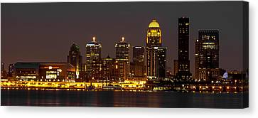 Louisville Skyline Canvas Print by Sean Allen