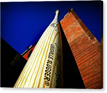 Louisville Slugger Bat Factory Museum Canvas Print by Bill Swartwout