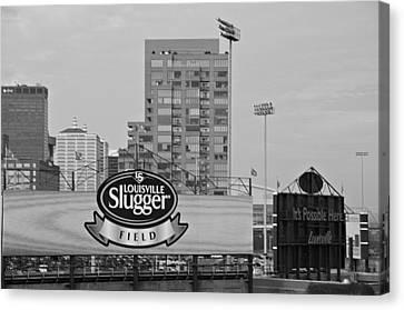 Louisville Slugger Field Canvas Print by Dan Sproul