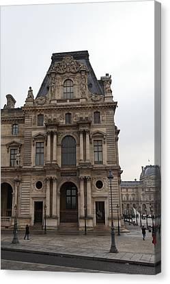 Louvre - Paris France - 011327 Canvas Print