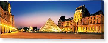 Louvre Paris France Canvas Print