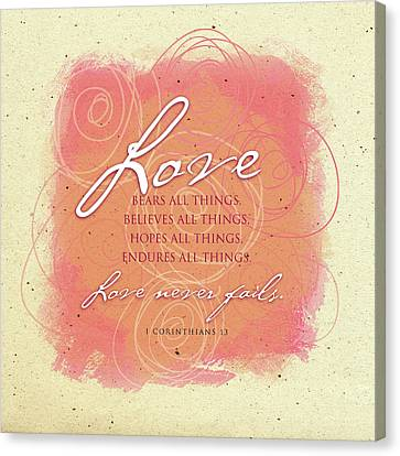 Love 2 Play Canvas Print by Tammy Apple